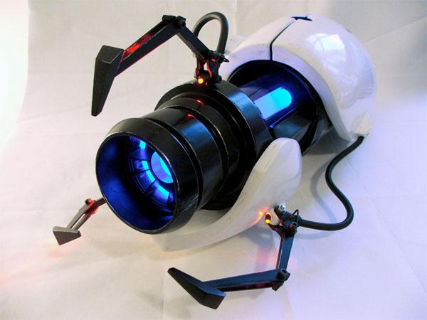 Portal gun replica befits a safer testing environment