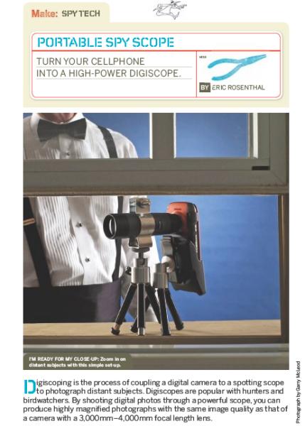 Weekend Project: Portable Spy Scope (PDF)