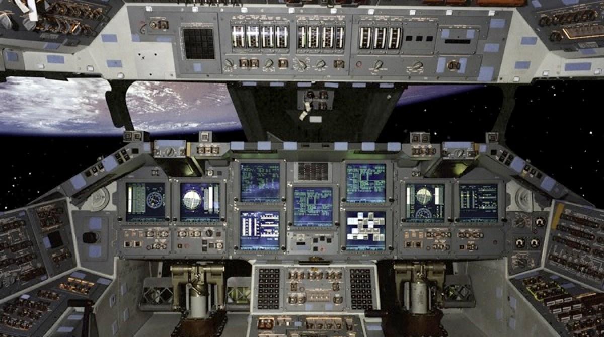 Space shuttle cockpit    | Make: