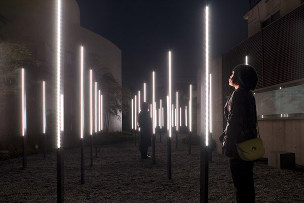 Array and Constellation projects create forests of light in public space