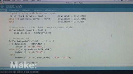 Personal Flight Recorder program for Arduino