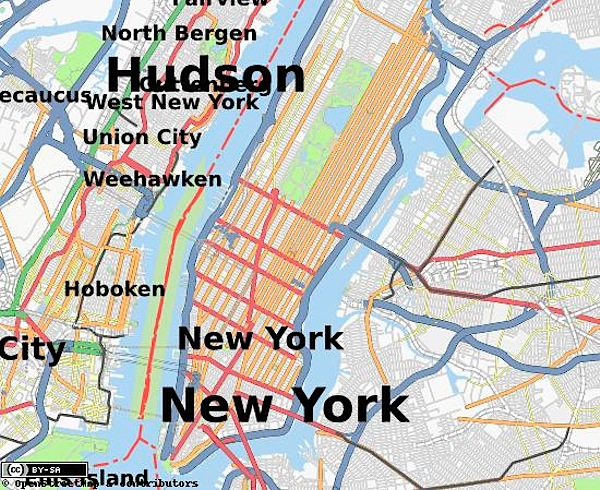 GPS mapping meetup in NYC – 2/21 & 2/22