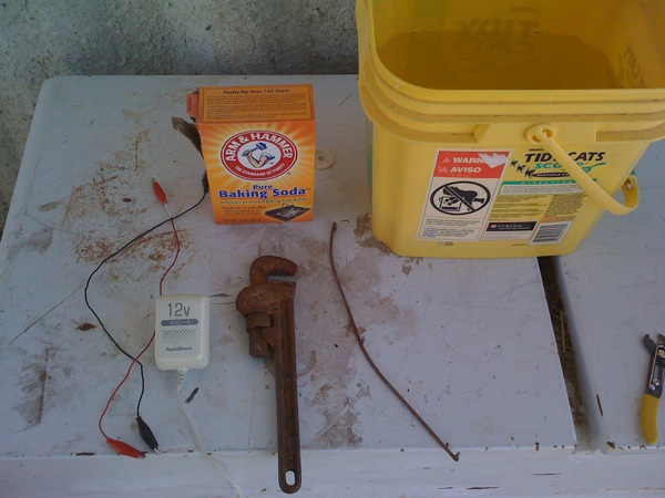 DIY Rust removal