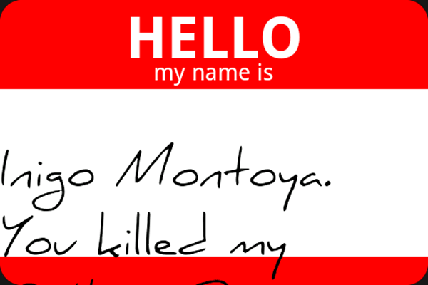 """Hello, """"my name is"""" Android app"""