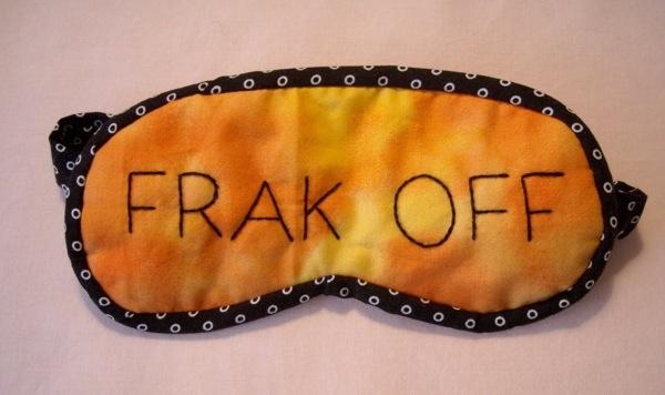 frak off eye quilt