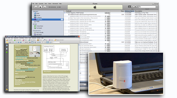 Not so lazy Sunday… Weekend Project – USB Motion Detector