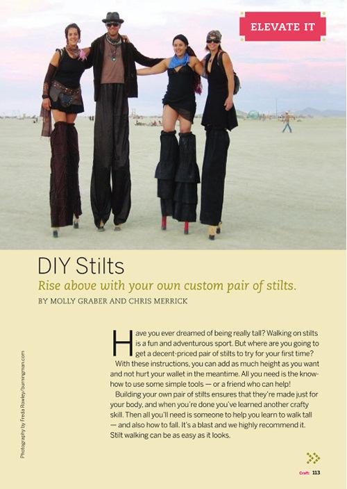 Weekend Project: DIY Stilts (PDF)