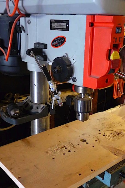 How-To: Drill press laser pointer