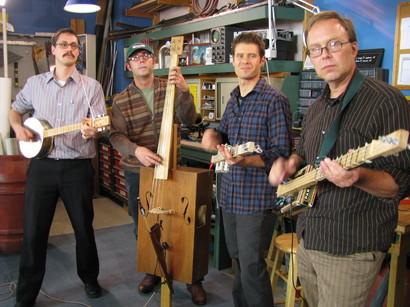 Cigar Box Guitar on Make: television