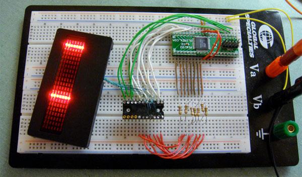 LED badge hacking