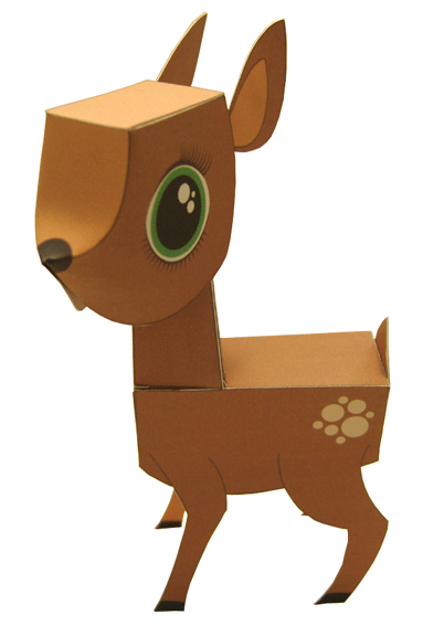 Painfully-cute papercraft