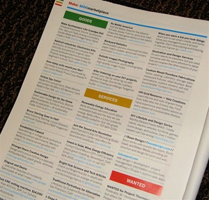 MAKE magazine classifieds