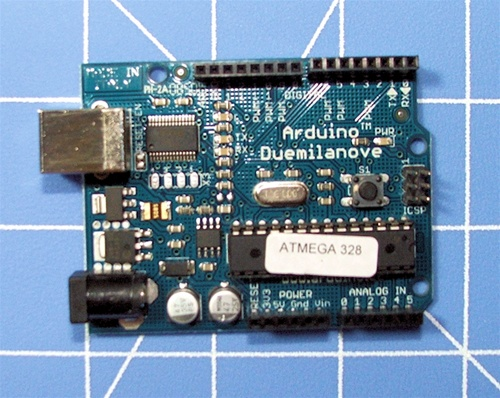 In the Maker Shed: New Arduino Duemilanove