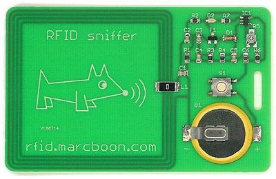 RFID sniffer workshop in Amsterdam