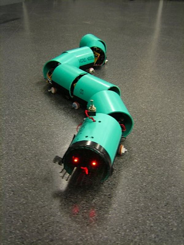 Well-documented robotic snake