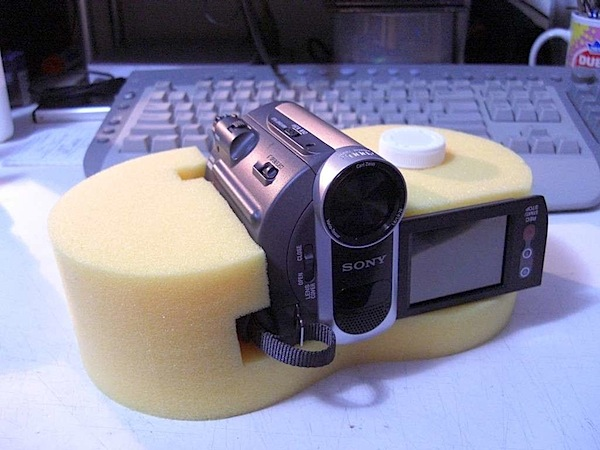How-To: Inexpensive dashboard camera stabilizer