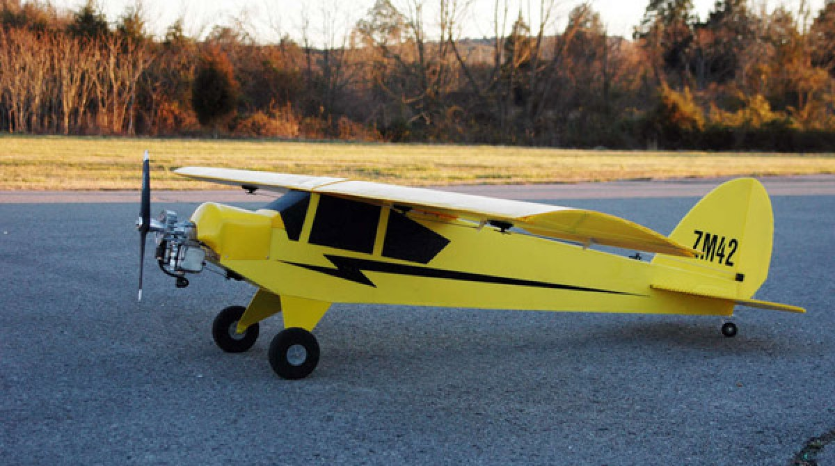 how to make plane with rc motor