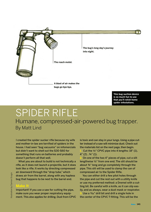 Weekend Project: Spider Rifle (PDF)