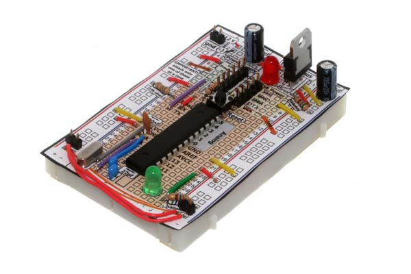Breadboard Arduino from Oomlout