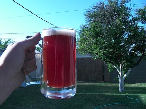 Blackberry pale ale