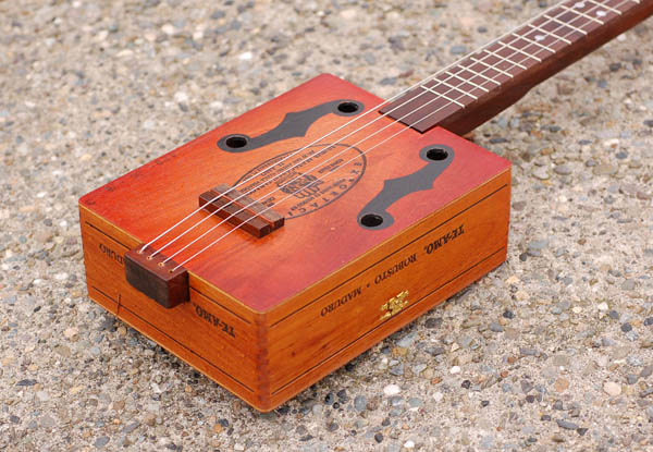 Steve's cigar box guitar
