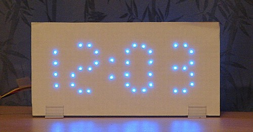 In the Maker Shed: LED clock kits on sale now