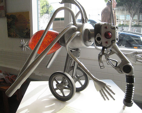 Gallery of junk-based art
