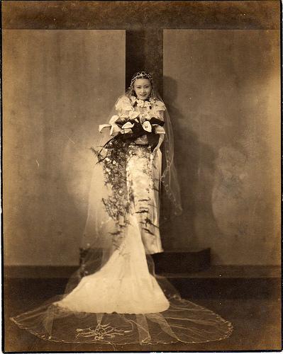 V&A Museum Wedding Fashion Project