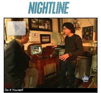 Nightline segment on makers movement, MAKE