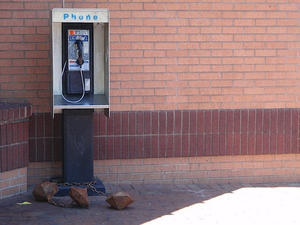 Pay phone charm