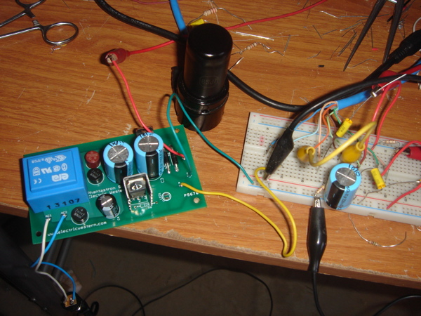 Vacuum tube power supply kit from Electric Western