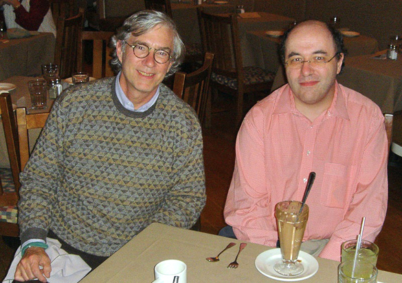 Rudy Rucker talks to Stephen Wolfram