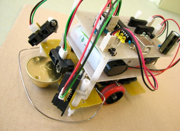 Self-propelled bot makes its own moves