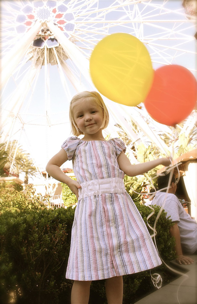 How-To: Make Child's Dress From Man's Dress Shirt