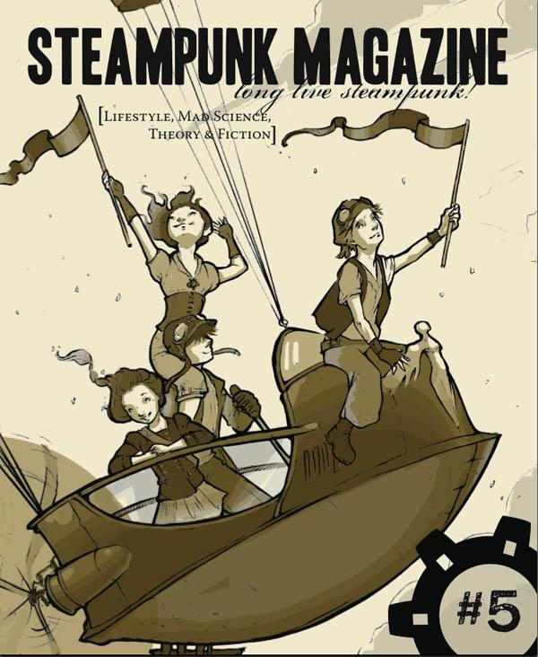 Steampunk Magazine, issue #5