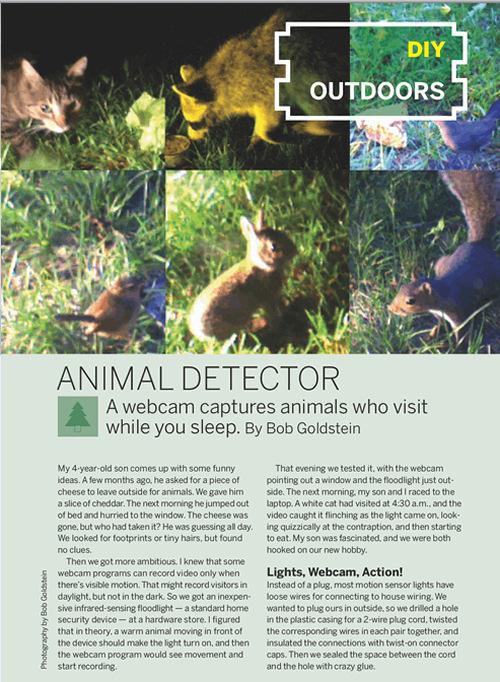 Weekend Project: Animal Detector (PDF)