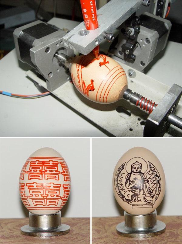 The egg printer