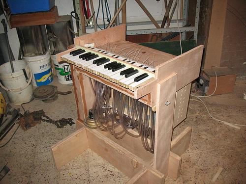 Flute organ