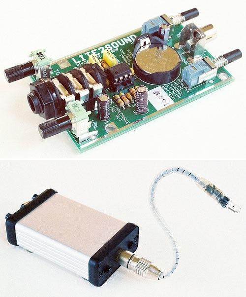Light-to-sound converter kit