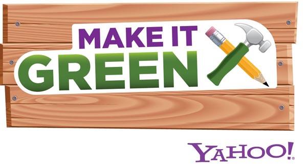 Yahoo!'s Make It Green program