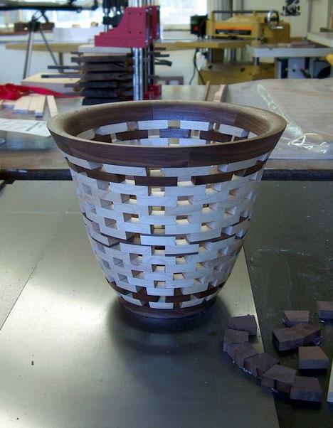 Scrap wood bowl