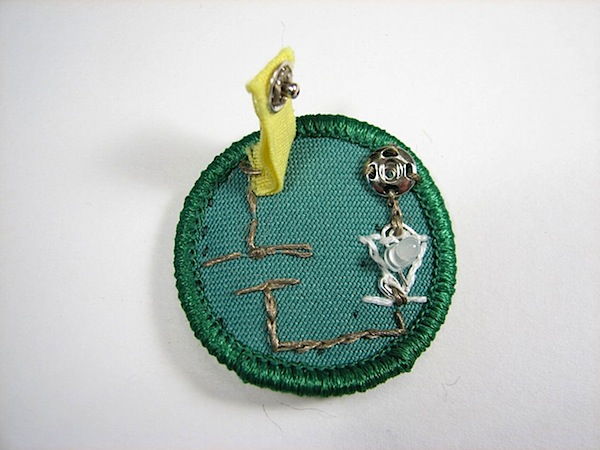 Soft circuit merit badge merits itself
