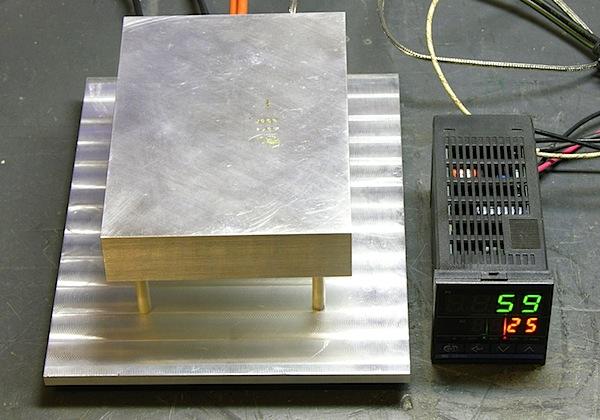 DIY PID-controlled solder hotplate