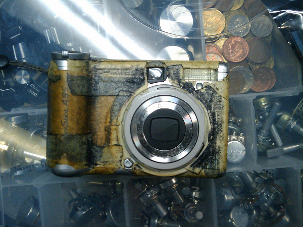 Jimmie's uglified camera