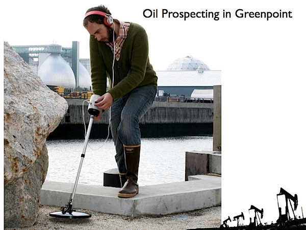 Urban prospecting detector finds oil in the city