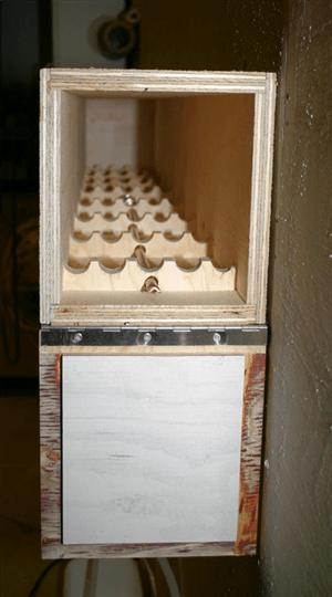 Easy DIY wood steaming cabinet