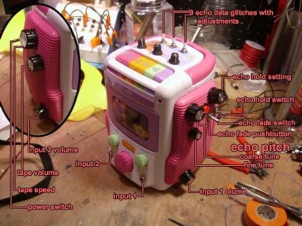 Bending Barbie's circuits