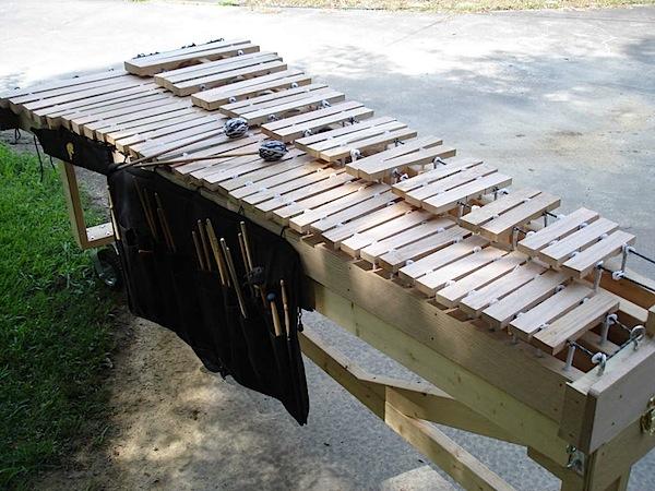 Make your own marimba