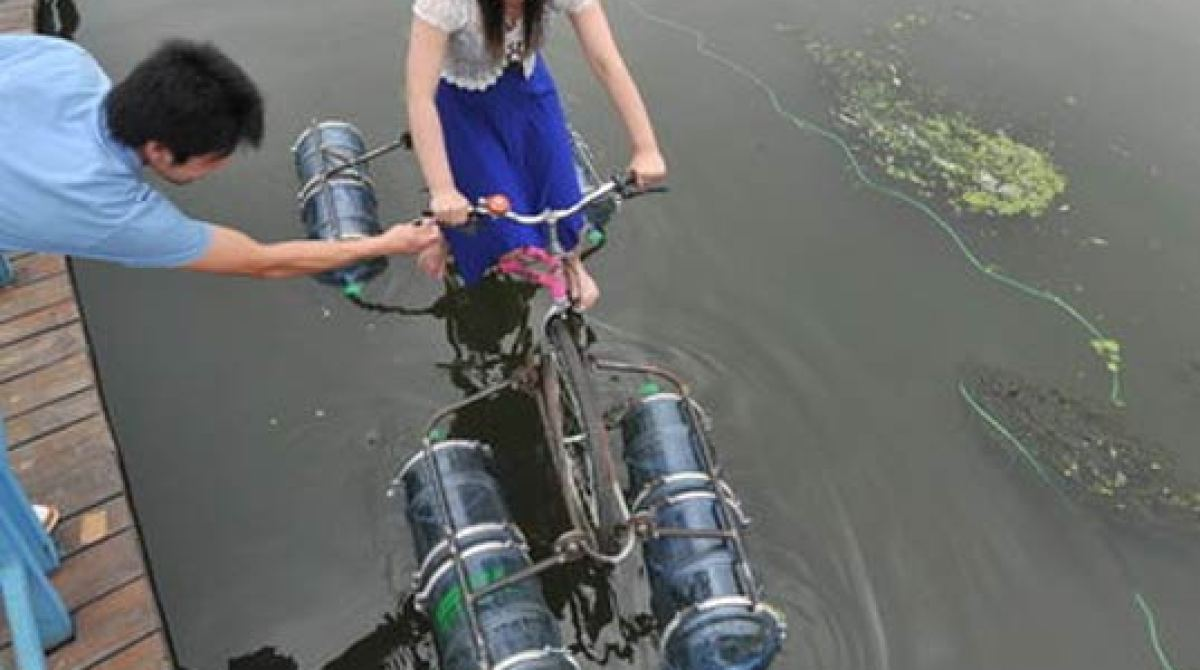 Amphibious Bike Make