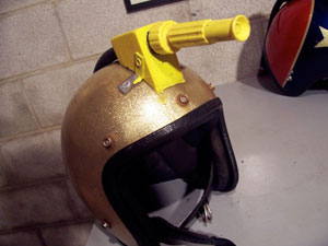 Flashback: Head-Mounted Water Cannon